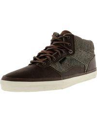 Vans - Black Bedford Monogram High-top Skateboarding Shoe - 11m for Men - Lyst
