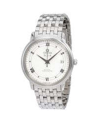 Omega - Metallic De Ville Automatic Ladies Watch 424.10.37.20.04.001 - Lyst