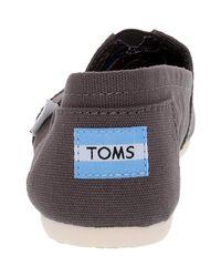 TOMS - Multicolor Classic Canvas Ash Ankle-high Flat Shoe - Lyst