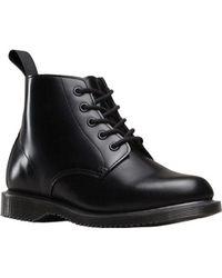 Dr. Martens - Black Emmeline 5 Eye Boot - Lyst