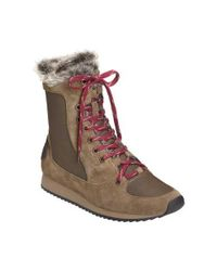 Aerosoles - Brown Women's Timespan Hiker Boot - Lyst