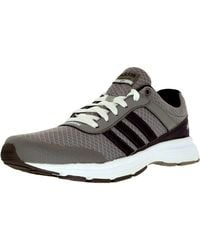 Adidas Originals - Gray Cloudfoam Vs City W Clear Onyx/grey/ftw White Ankle-high Synthetic Tennis Shoe for Men - Lyst