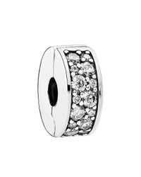 Pandora - Multicolor Shining Elegance Clear Clip 791817cz - Lyst