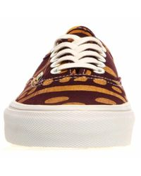 "Vans - Purple Authentic ""della"" Batik/geo Vn-0w4ndts - Lyst"