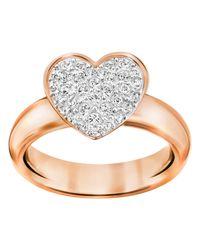 Swarovski - Metallic Even Ring Size 6 - Lyst