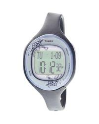 Timex - Metallic Health Tracker Ladaies Digital Watch T5k484 - Lyst