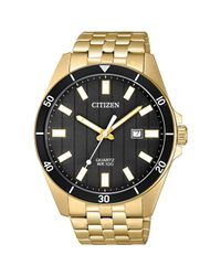 Citizen - Metallic Bi5052-59e Quartz Watch Gold 42mm Stainless Steel for Men - Lyst