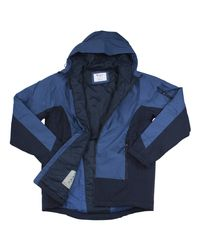 Champion - Blue Technical Ripstop Ski Seabottom Puffer Hooded Jacket Sz: Xl for Men - Lyst