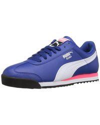 547ef78dab97 ... Mens Roma Basic Fashion Sneaker Blue huge sale 21616 2af4f  PUMA.