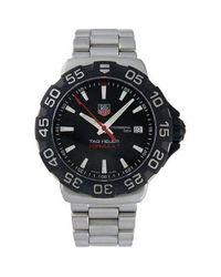 Tag Heuer - Black Wah1110.ba0850 Formula 1 Professional Watch for Men - Lyst