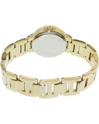 Fossil - Metallic Virginia Es3283 Gold Stainless-steel Quartz Fashion Watch - Lyst