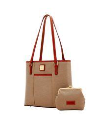 Dooney & Bourke - Red Cork Small Lexington & Frame Purse Bag - Lyst