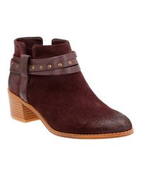 Clarks | Multicolor Breccan Shine Ankle Boot | Lyst