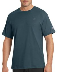 Champion - Blue Classic Jersey Tee for Men - Lyst