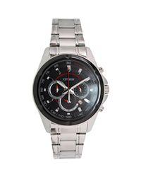 Citizen - Metallic Chronograph An8041-51e Silver Stainless-steel Quartz Fashion Watch for Men - Lyst