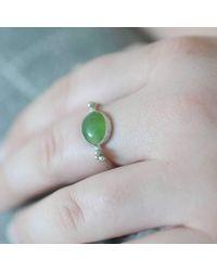 Rebecca Pratt Jewellery | Multicolor Chrysoprase Ring | Lyst