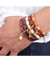 Eva Michele - Multicolor Black W Copper Infinity Bracelet for Men - Lyst