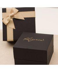 Kaizarin - Multicolor Sapphire Drop Earrings In White Gold - Lyst