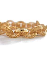 Tove Rygg - Metallic Goddess Link Necklace - Lyst
