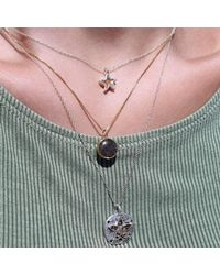 Dune Jewelry - Multicolor Petite Natural Sand Dollar Necklace - Lyst
