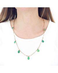 freeRange JEWELS - Multicolor Figure 8 Chrysoprase Drop Necklace - Lyst