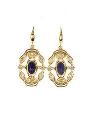 Neola - Metallic Jaipur Gold Earrings - Lyst