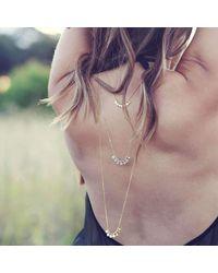 EMELLi Jewellery - Multicolor Seven Chakras Long Necklace- Silver - Lyst