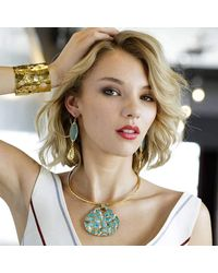Devon Leigh - Multicolor One Of A Kind Turquoise Pendant Necklace - Lyst