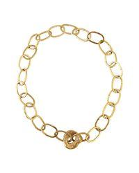 Apis Atelier - Metallic Sea Of Serenity Necklace - Lyst