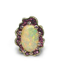 Stanislav Drokin - Multicolor Fifth Continent Ring - Lyst