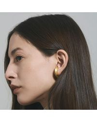 aka jewellery - Multicolor Orbit Wide Radius Lobe Earrings - Lyst