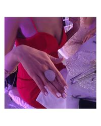 Latelita London - Multicolor St Tropez Ring Silver White Zircon - Lyst