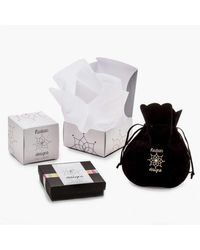 Nadean Designs - Multicolor Ethiopian Black And White Opal Diamond Bar Necklace - Lyst