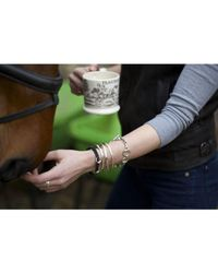 Hiho Silver - Metallic Classic Sterling Silver Snaffle Bracelet - Lyst