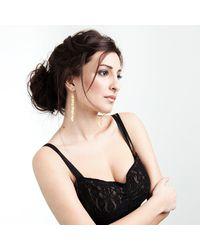 Valentina Falchi Artistic Jewellery - Multicolor Tagliatella Earrings Golden - Lyst