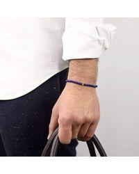 Esenelle - Blue Jagger Bracelet for Men - Lyst