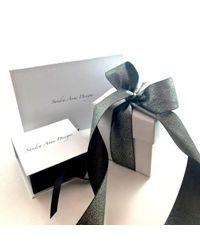 Sandra Anne Designs - Multicolor Aqua Chalcedony Stacked Bangles - Lyst