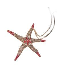 Pinomanna - Brown Natural Chic Sea Star Necklace - Lyst