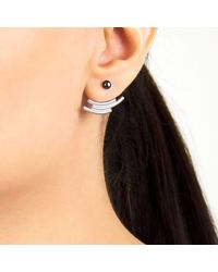 Pargo Jewelry | Multicolor Mouj Earrings-silver And Peacock Pearl | Lyst