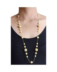 M's Gems by Mamta Valrani - Multicolor Firoza Chain With Pearls And Enamel Beads - Lyst