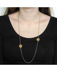 Emma Mogridge Jewellery - Multicolor Porthole Duo Asymmetric Necklace - Lyst