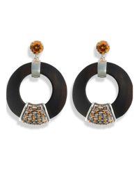 Hissia - Multicolor Orange Luz Earrings - Lyst