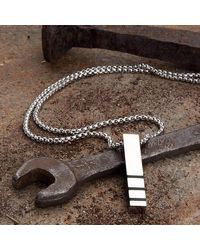 KAVALRI - Multicolor Striped Block Necklace - Lyst