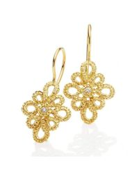 Brigitte Adolph Jewellery Design | Metallic Miss Medea Yellow Gold Earrings | Lyst