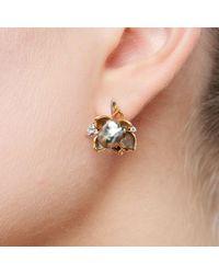 Chekotin Jewellery - Multicolor Flower Eden Earrings - Lyst