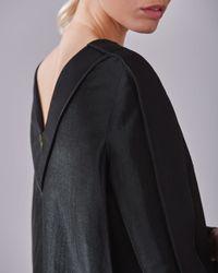 Jigsaw   Black Viola Cocoon Panel Dress   Lyst