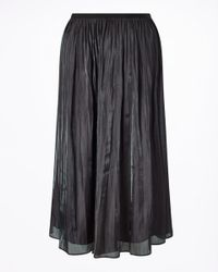 Jigsaw - Multicolor Pleated Iridescent Midi Skirt - Lyst