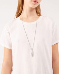 Jigsaw | Metallic Chunky Line Short Necklace | Lyst