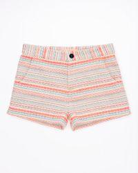 Jigsaw - Multicolor Striped Jacquard Shorts - Lyst