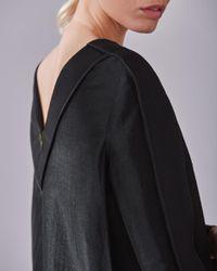 Jigsaw - Black Viola Cocoon Panel Dress - Lyst